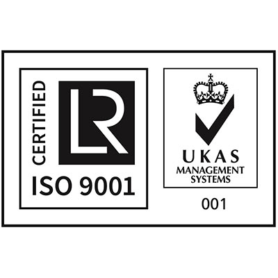 ISO9001 + UKAS March 2020